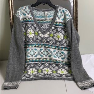 Aeropostale wool blend V-neck sweater XL